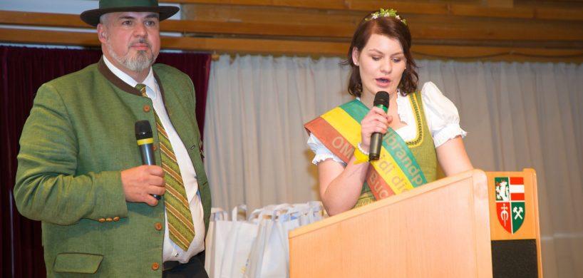 Bei der Präsentation von Schnaps im Schloss 2019